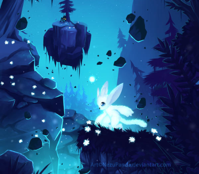 Ori and the Blind Forest fanart.