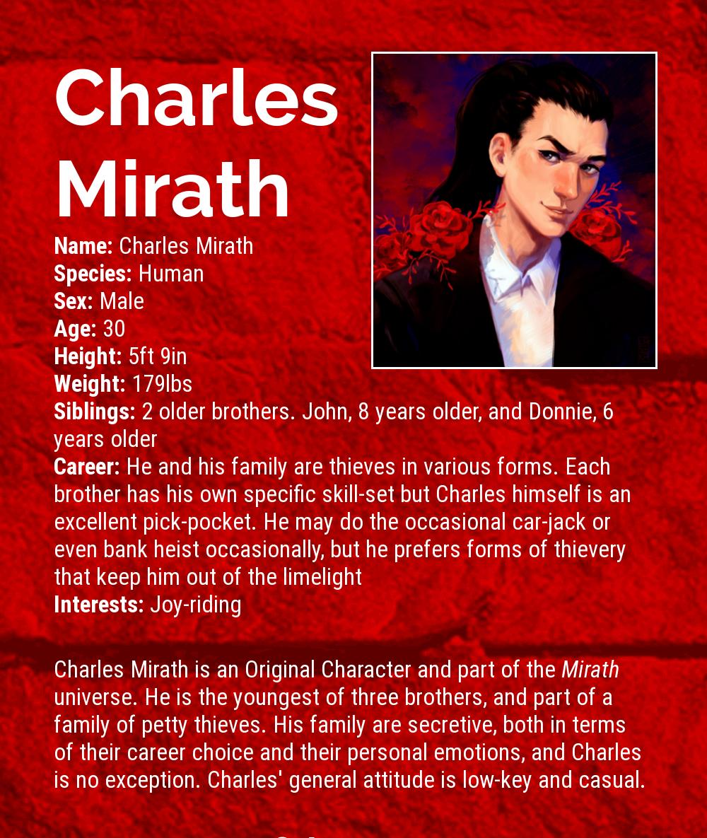 Charles Mirath Infographic Stub