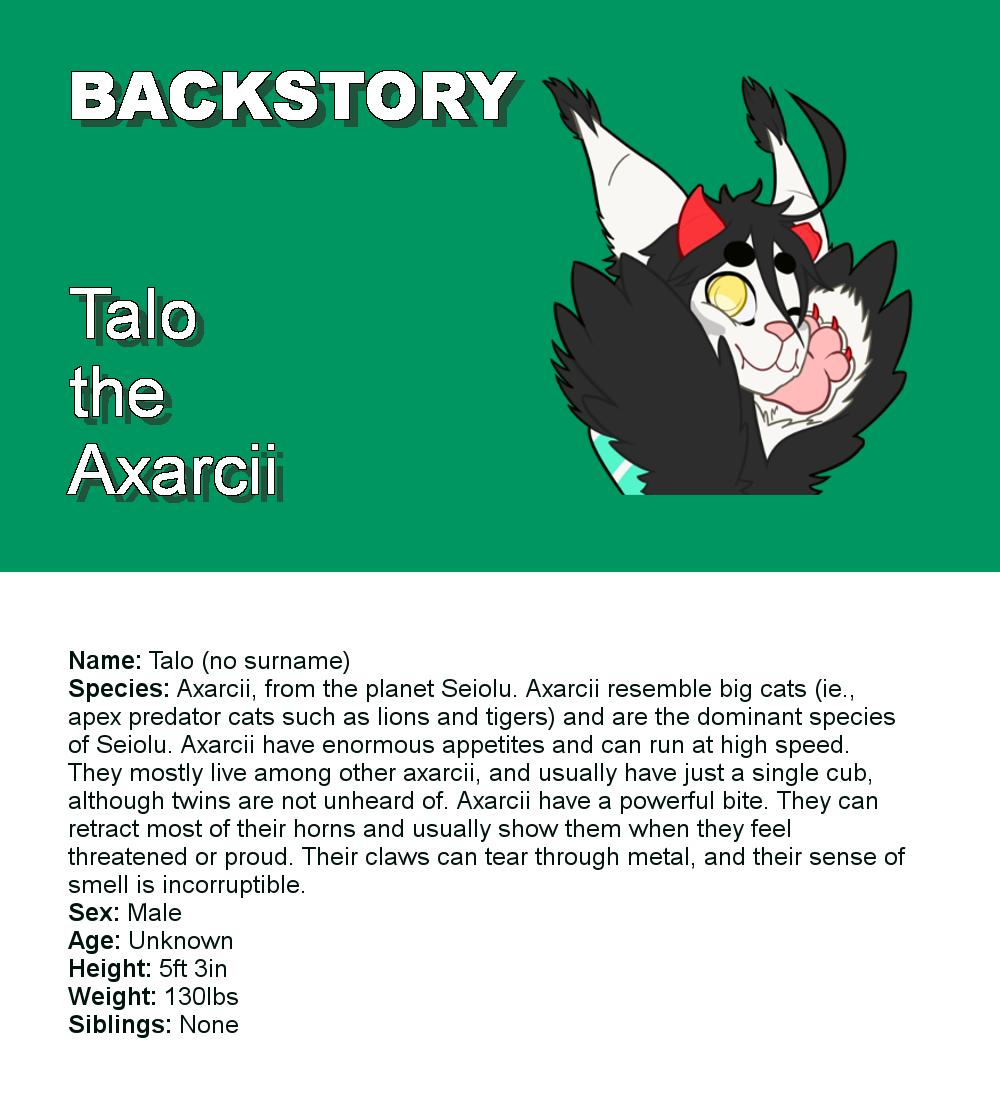 Talo Infographic Stub